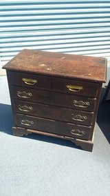 Wooden nightstand/small dresser in Camp Lejeune, North Carolina