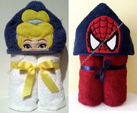 Kids Hooded Towels. Message us for other characters. in Cherry Point, North Carolina