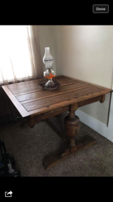 Antique Table in Fort Knox, Kentucky