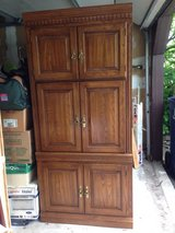 Solid wood cabinet in Naperville, Illinois