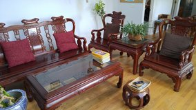 Chinese Rosewood Furniture Set by Private Seller in Tucson, AZ in Davis-Monthan AFB, Arizona