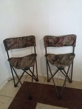 Hunting camo. chairs in Altus, Oklahoma