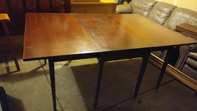 Vintage Mahogany Folding Table by Private Seller in Tucson AZ in Davis-Monthan AFB, Arizona