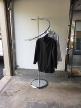Steel Spiral Clothing Rack in St. Charles, Illinois