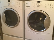 GE High Efficiency washer and dryer set in Fort Carson, Colorado