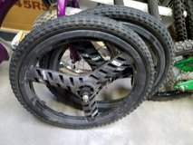 "Old School GT Dyno ACS Stealth 20"" 3 Bar Mag BMX Wheelset Rims w/tires in Naperville, Illinois"