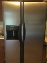 Frigidaire Stainless Steel side-by-side Refrigerator in Fort Carson, Colorado