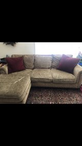 beautiful down filled sectional couch in Fairfield, California