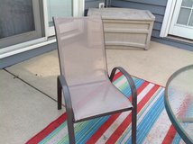 Outdoor chairs in Bolingbrook, Illinois