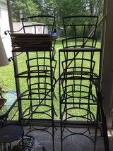Wrought iron chairs in Bolingbrook, Illinois