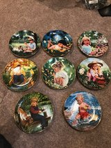 Collector's children's plates. Hummells in Bolingbrook, Illinois