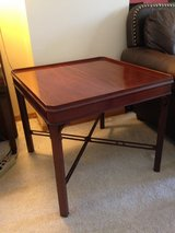 solid wood table square in Elgin, Illinois