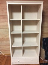 8 Cubby Adjustable Bookshelf with 2 Drawers in Okinawa, Japan