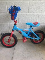 12 inch Spider Man Bike in Okinawa, Japan