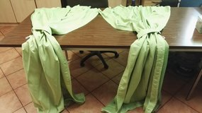 Green color curtains in size 1m/2m in Ramstein, Germany