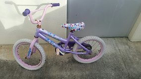 Pink And Purple Bicycle in Okinawa, Japan
