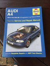 Audi A4 Haynes Manual. in Lakenheath, UK