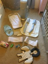 New born bundle bassinet bumpers swaddle diaper gennie in Bolingbrook, Illinois