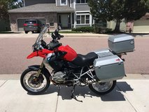 2010 BMW R1200GS with $5000 in extras on bike in Colorado Springs, Colorado