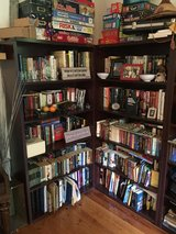 Nice Wood bookshelves 4 tall and 2 short in Ramstein, Germany