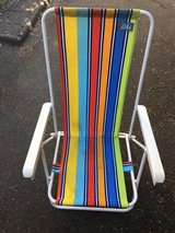 2 folding beach or outdoor chairs in Ramstein, Germany