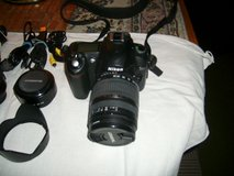 Nikno D50 SLR Digital Camers with Lenses in Aurora, Illinois