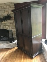 Pottery Barn Armoire for TV or Clothes in Aurora, Illinois
