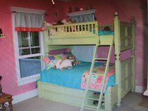 Young America Double/Twin bed: converts to two twin beds too. Built by Stanley Furniture. in Beaufort, South Carolina