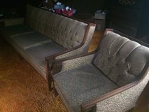 Vintage Sofa & Chair located in Centerville. in Macon, Georgia