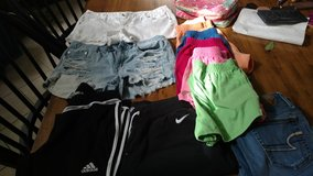 Lots of Teen clothes sizes 10, M, Lg  Shoe size 11 in Macon, Georgia