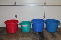 Heavy Duty Plastic Drink Tubs Great for Parties, Camping, Sporting Events (3) in St. Charles, Illinois
