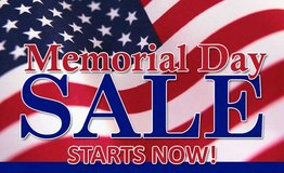 MEMORIAL DAY SALE SAVE UP TO 40% OFF FLOOR SAMPLES in Beaufort, South Carolina