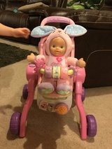 Vtech 3-in -1 Stroller with Doll in Chicago, Illinois