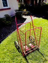 Large cart in Fairfield, California