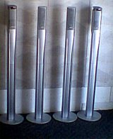 4 JVC Speaker Towers with stands in Fort Knox, Kentucky