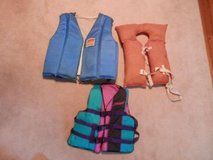 Assortment of life jackets in Chicago, Illinois