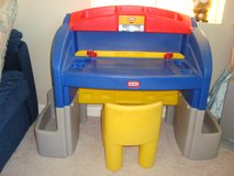 Little Tikes Children's Desk and Chair in Travis AFB, California