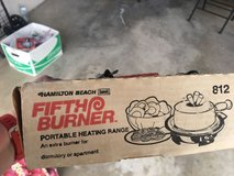 Portable Hamilton Beach 5th Burner Electric Hot Plate in Camp Pendleton, California
