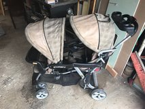 Sit and stand double stroller in Chicago, Illinois