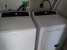 Whirlpool washer and dryer set in Fort Knox, Kentucky
