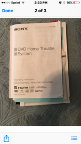 DVD/Home theater system in Byron, Georgia