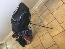 Golf clubs and bag in Camp Lejeune, North Carolina