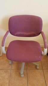 Maroon office chair in Alamogordo, New Mexico