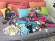 Lot of American Girl dolls and clothes in Beaufort, South Carolina