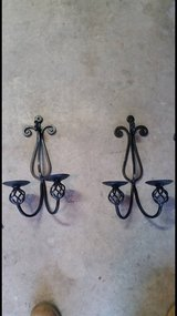 metal wall candle holders in San Clemente, California