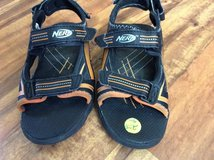 Boys Nerf sandals size 1 in Batavia, Illinois