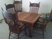 Solid Oak Dining Table in 29 Palms, California