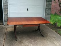 Duncan Phyfe Dining Table in Tomball, Texas