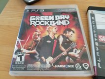 PS3 Green Day Rock Band in Yorkville, Illinois