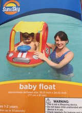 Sun & Sky baby float new in Camp Pendleton, California